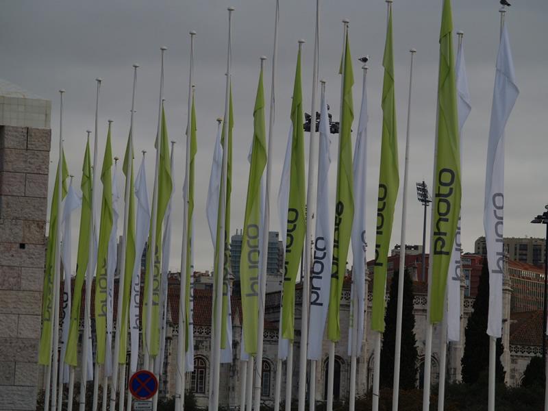 Bandeiras em mastros 2